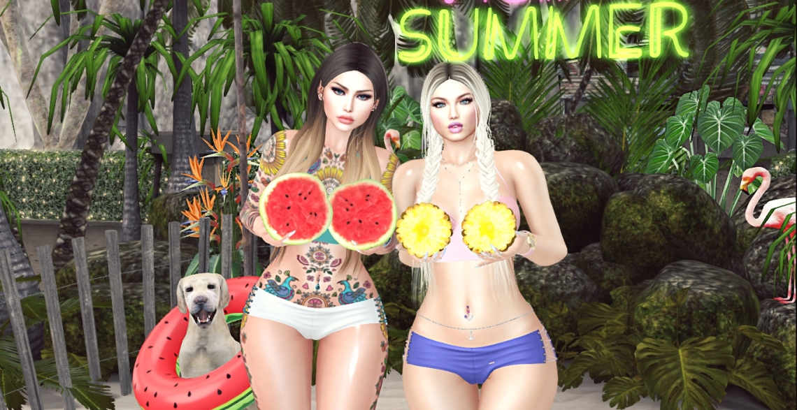 Freya & Pink - Beach Fun14_002a